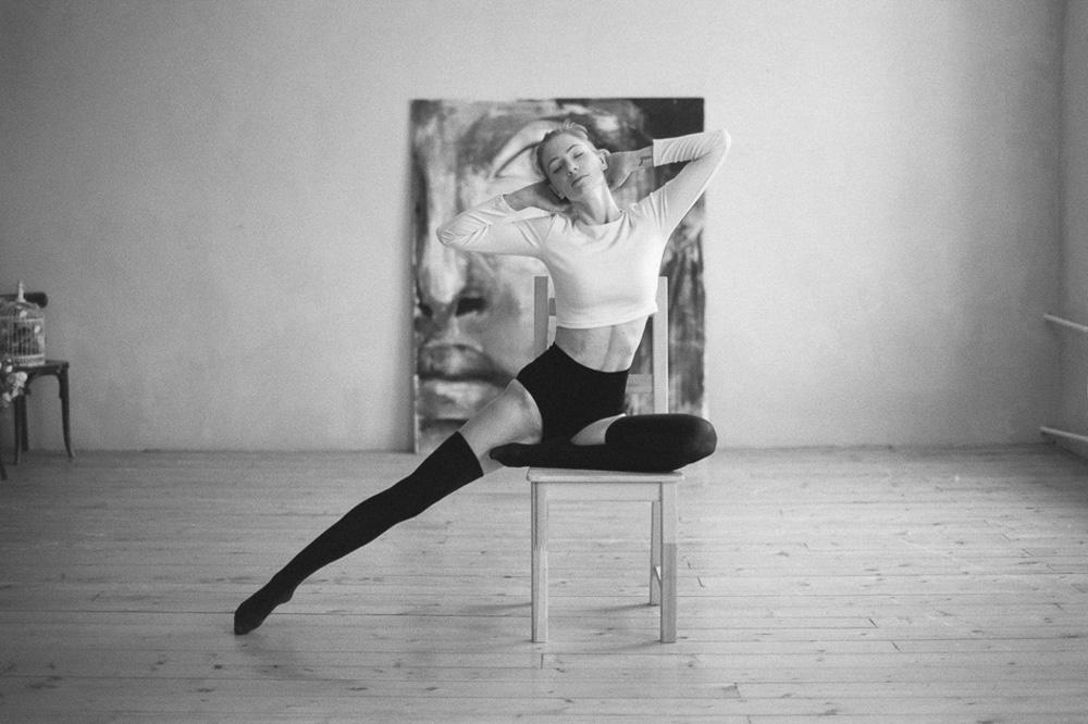 Yoga girl, by Ekaterina Orlova