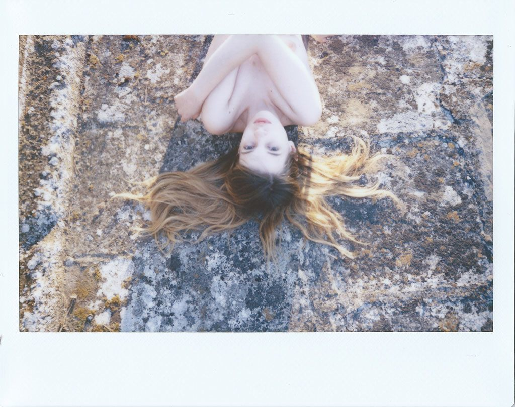Italy, sea, and instant photography. Meet Francesco Sambati