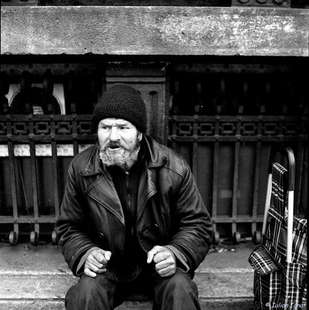 Homeless. By Iulian Ignat