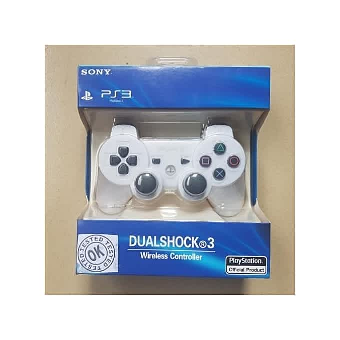 Buy Sony Ps3 Dualshock Controller White Free Charging Cable Onitshamarket Com