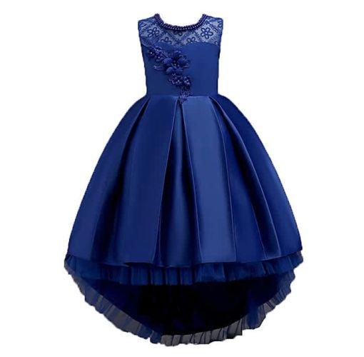 Onitshamarket - Buy Flower Kids Girls Princess Dresses Party Wedding Pageant Tulle Formal Dresses