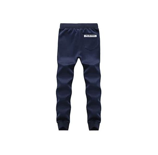Onitshamarket - Buy Fashion Mens Trousers Casual Pants Sweatpants Men's Slim Pants Blue