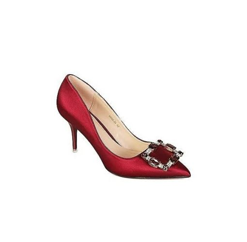 Onitshamarket - Buy Honey Beauty High Heeled Shoes - Red Heels