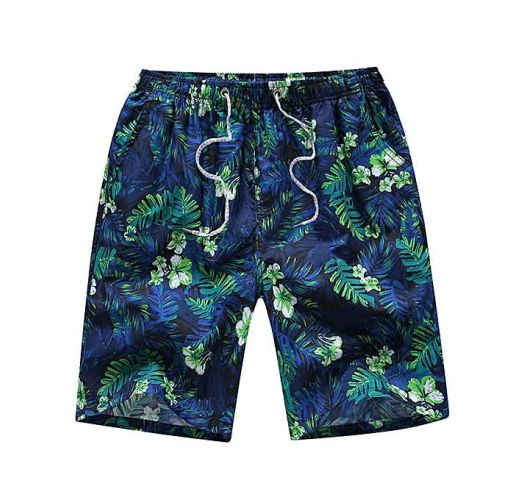 Onitshamarket - Buy 4-in-1 Men Casual Quick Drying Shorts Printed Swimming Pants