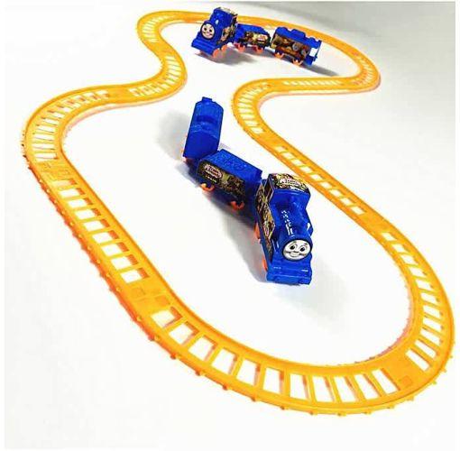 Onitshamarket - Buy Baby Puzzle Electric Rail Car Boy Model Combination Toy Building Toys