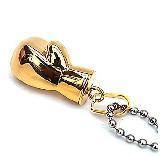 Onitshamarket - Buy Gloves Fashion Chain Necklace Men's Gold Titanium Steel Pendant Gzsh296dz