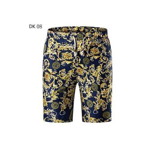 Onitshamarket - Buy New Shorts Men New Cotton Brand Clothing Slim Fit Pattern Fashion Male High Quality-DK08 - Fashion