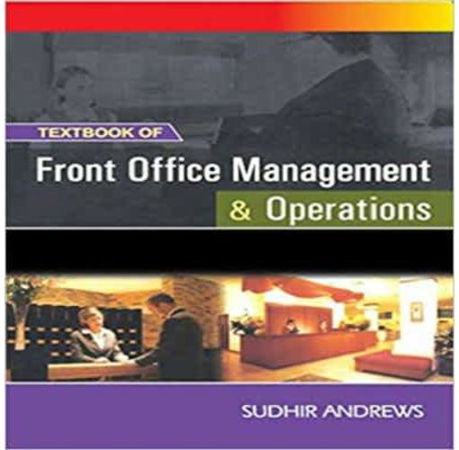 Onitshamarket - Buy Textbook Of Front Office Management and Operations by; Sudhir Andrews
