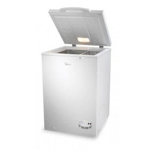 Onitshamarket - Buy Midea Chiest Freezer HS-129 (99Lts, Outside Condenser - R134a) - Silver
