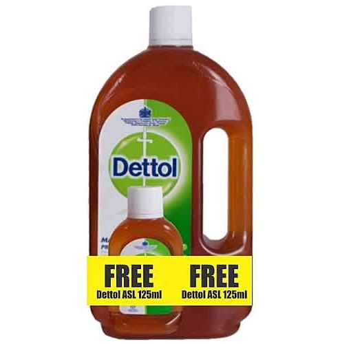 Onitshamarket - Buy Dettol Antiseptic Liquid Disinfectant 1 Litre + FREE 125ml Bottle