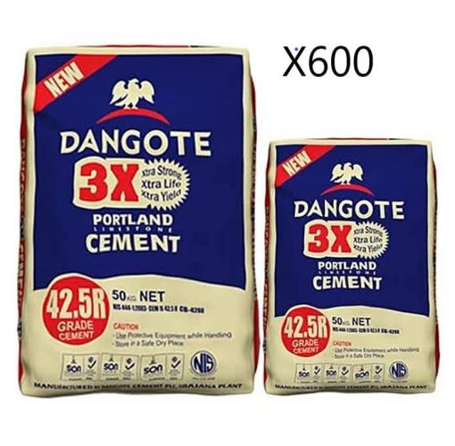 Onitshamarket - Buy A Full Load Trailer of Dangote Cement (600 bags)