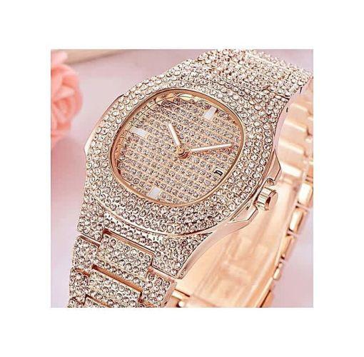 Onitshamarket - Buy Fashion Men's Iced Stone Bracelet Watch Men's Jewelry