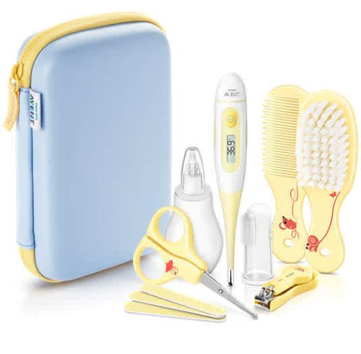 Onitshamarket - Buy Philips Avent Baby Care Set - Yellow | SCH400/00 Grooming and Healthcare Kits