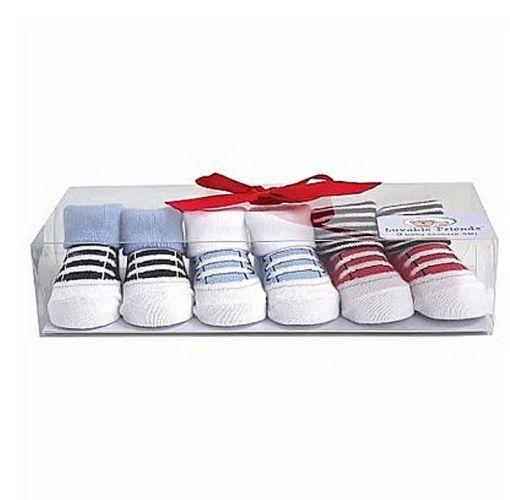 Onitshamarket - Buy Luvable Friends Baby Boy Shoe Socks