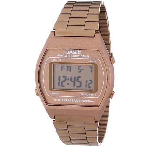Onitshamarket - Buy Casio Men's Digital Alarm Watch B640WC-5ADF - Rose Gold