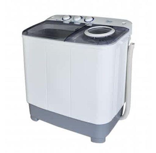 Onitshamarket - Buy Midea-MWM-MTE100-P110-Top Loading 10KG Semi Automatic Twin Tub Washing Machine -  White