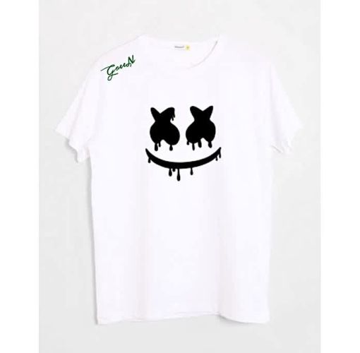 Onitshamarket - Buy Fashion Green Depiction Signatures T-shirt