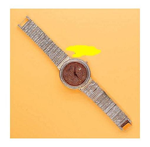Onitshamarket - Buy Piquet Stone Ice Wrist Watch