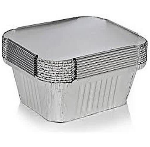 Onitshamarket - Buy Universal Silver Disposable Small Chop Packs + White Cover - 50 Piece