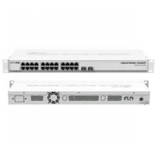 Onitshamarket - Buy Mikrotik CSS326-24G-2S+RM 24 port Gigabit Ethernet switch with two SFP+ ports in 1U rack