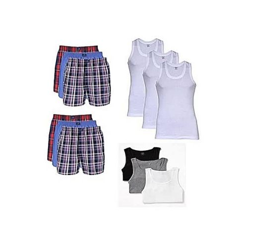 Onitshamarket - Buy Fashion 12 Pieces Of Men's Underwears Combo