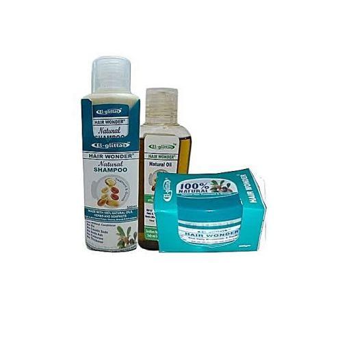 Onitshamarket - Buy El -glittas Hair Wonder (Hair Cream, Hair oil, $Shampoo)