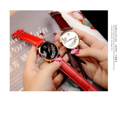 Onitshamarket - Buy Yazole Women's  Leather Strap Women Watch