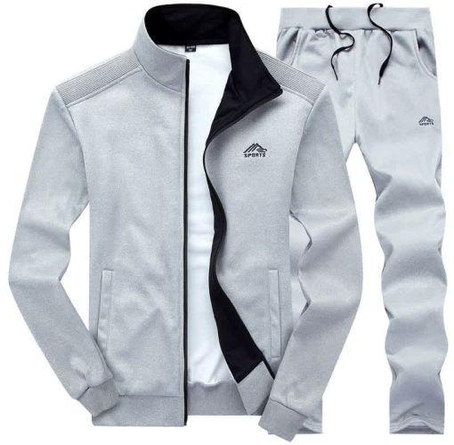 Onitshamarket - Buy Fashion Stylish Youth Sports Men's Embriodery Clothes Cardigan Suit Clothing