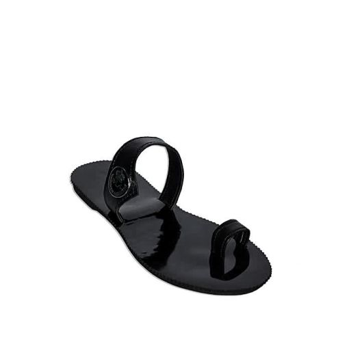 Onitshamarket - Buy Fashion Royal Ziggies Toe Holder - Black Slippers and Sandals