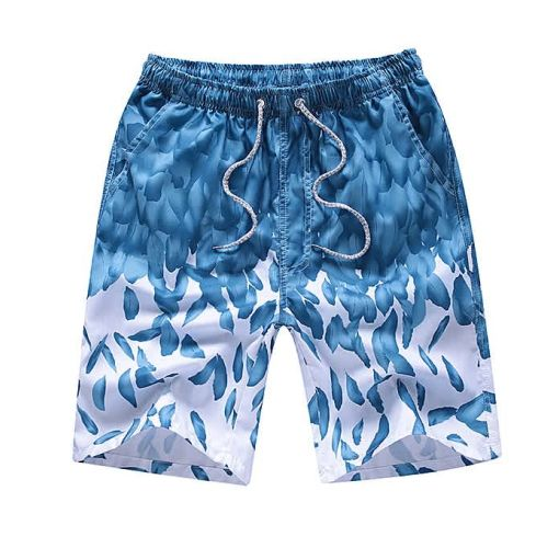 Onitshamarket - Buy 4-in-1 Men Casual Quick Drying Shorts Printed Swimming Pants Clothing