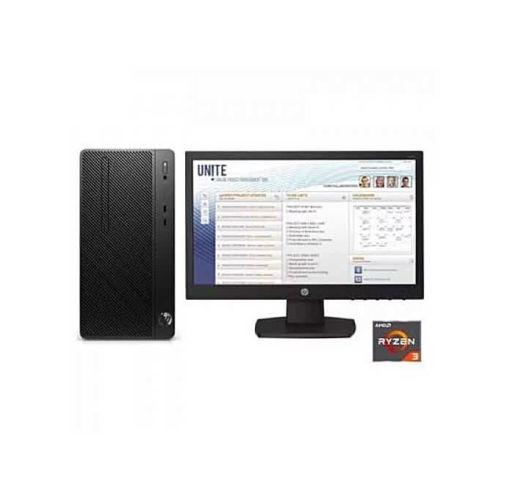 Onitshamarket - Buy HP Desktop Pro A Microtower PC, Amd-ryzen 3-2200, 4GB Ddr4 RAM, 500GB HDD Freedos + 18.5'' Monitor Desktop Bundles