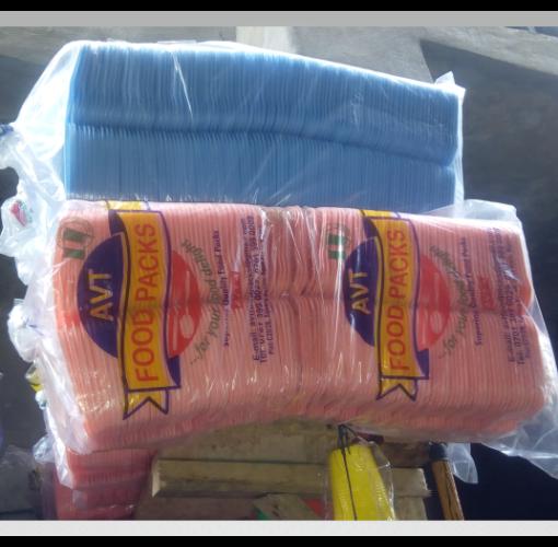 Onitshamarket - Buy AVT Disposable Take-away Plates- 100 Pcs- Coloured