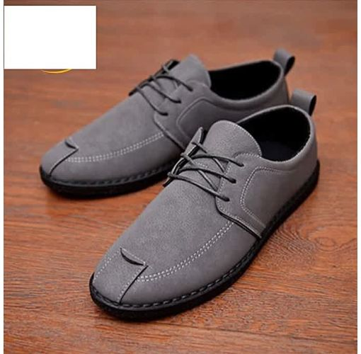 Onitshamarket - Buy Men's Shoe-----Bespoke Top-Notch Men's Casual Shoe---GREY