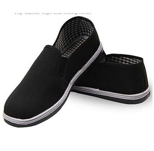 Onitshamarket - Buy Fashion Old Beijing Corduroy Black Cloth Men's Shoe Clothing