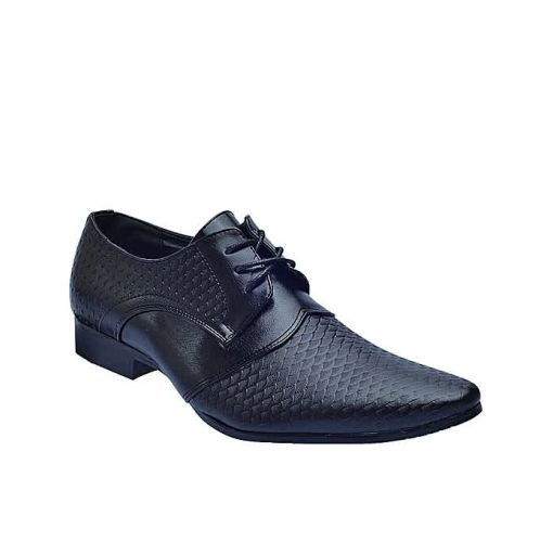 Onitshamarket - Buy Formal fish leather shoes black