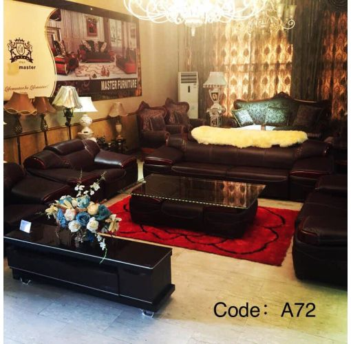 Onitshamarket - Buy Long  Leather Chair with Centre Table