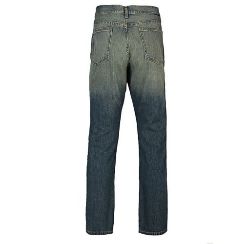 Onitshamarket - Buy Men's Faded Detail Straight Jeans Non Pin - Blue Clothing
