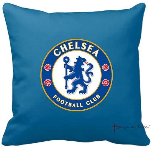 Onitshamarket - Buy Burgundy Club Football Throw Pillow (Chelsea FC)
