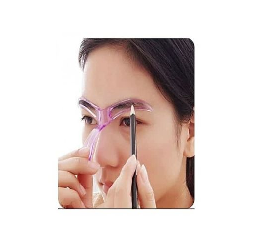 Onitshamarket - Buy Fashion Eyebrow Template Stencil Grooming Shaping Helper DIY Tool Beauty Makeup Makeup