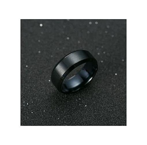 Onitshamarket - Buy Fashion Titanium Black Ring