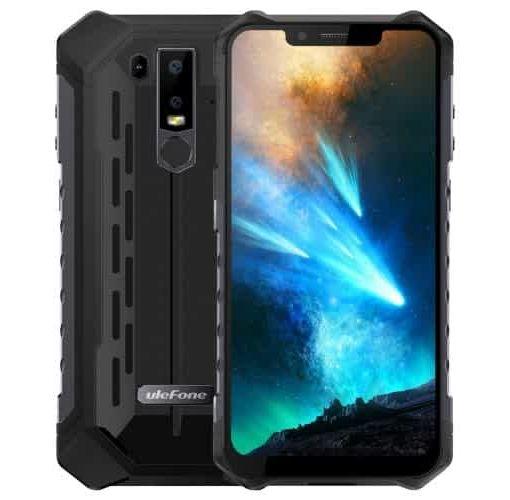 Onitshamarket - Buy generic Ulefone Armor 6 4G Phablet - Black European Union 6GB RAM 128GB ROM 8.0MP Front Camera Fingerprint Sensor Corning Gorilla Glass 5