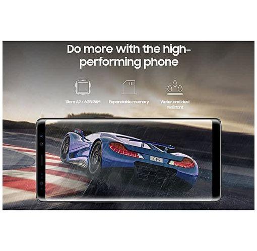 Onitshamarket - Buy Samsung Galaxy Note 8 6.3-Inch QHD (6GB,64GB ROM), (12MP + 12MP) + 8MP 4G LTE Smartphone - Midnight Black Smartphones