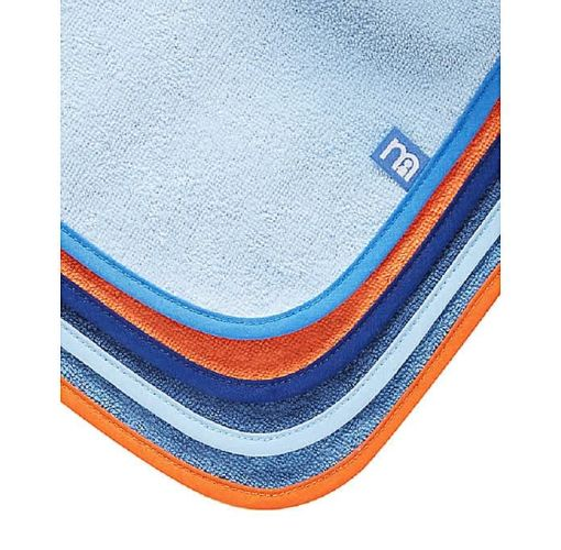 Onitshamarket - Buy Colour Block Toweling Bibs- 4 Packs Watchcloths and Towels