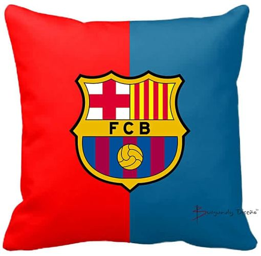 Onitshamarket - Buy Burgundy Club Football Throw Pillow (FC Barcelona)