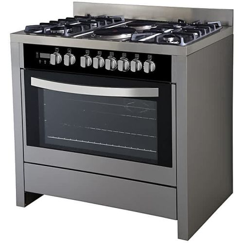 Onitshamarket - Buy Scanfrost 6-Burner Gas Cooker SFC9423 SS (4 Gas + 2 Electric)