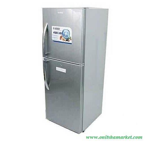 Onitshamarket - Buy Bruhm  BRD-225 Double Door Refrigerator, 225Liters - Silver Water Coolers and Filters