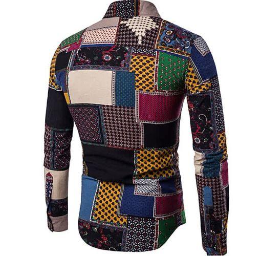 Onitshamarket - Buy Men's Long Sleeves Printed Floral Beach Club Shirts - Multi Clothing