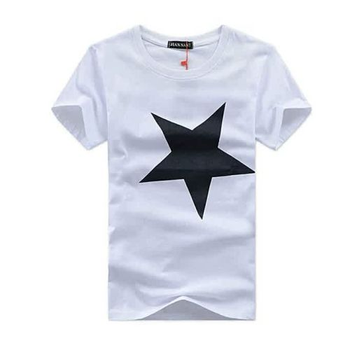 Onitshamarket - Buy Neworldline High Quality 100% Contton Men Printed Fashion Short Sleeve T-shirt - White