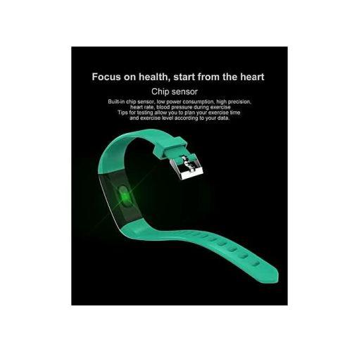 Onitshamarket - Buy Smart Wristband Sport Heart Rate Bracelet Sleep Monitor -Blue