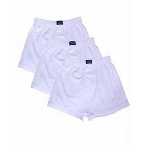 Onitshamarket - Buy Yulu Men's Underwear Boxer - White Clothing